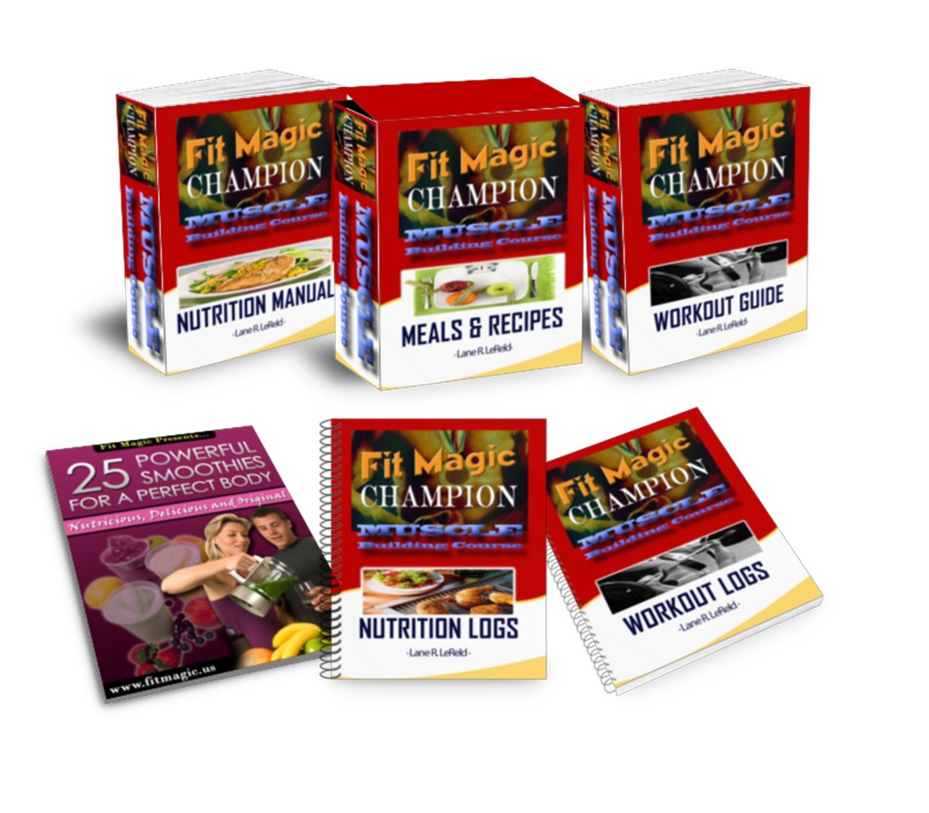 Fit Magic Champion Muscle Building Course