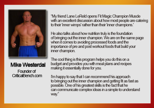 Fit magic champion muscle testimonial