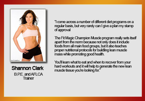 fit magic champion muscle shannon testimonial